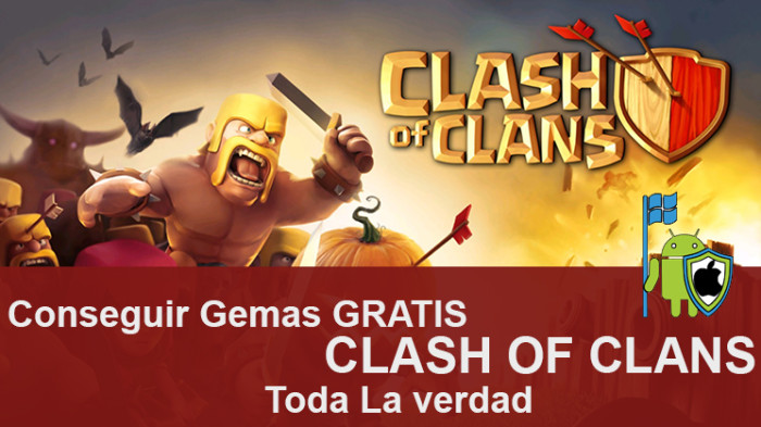 """la verdad sobre el popular mito """"Conseguir gemas en Clash Of Clans"""